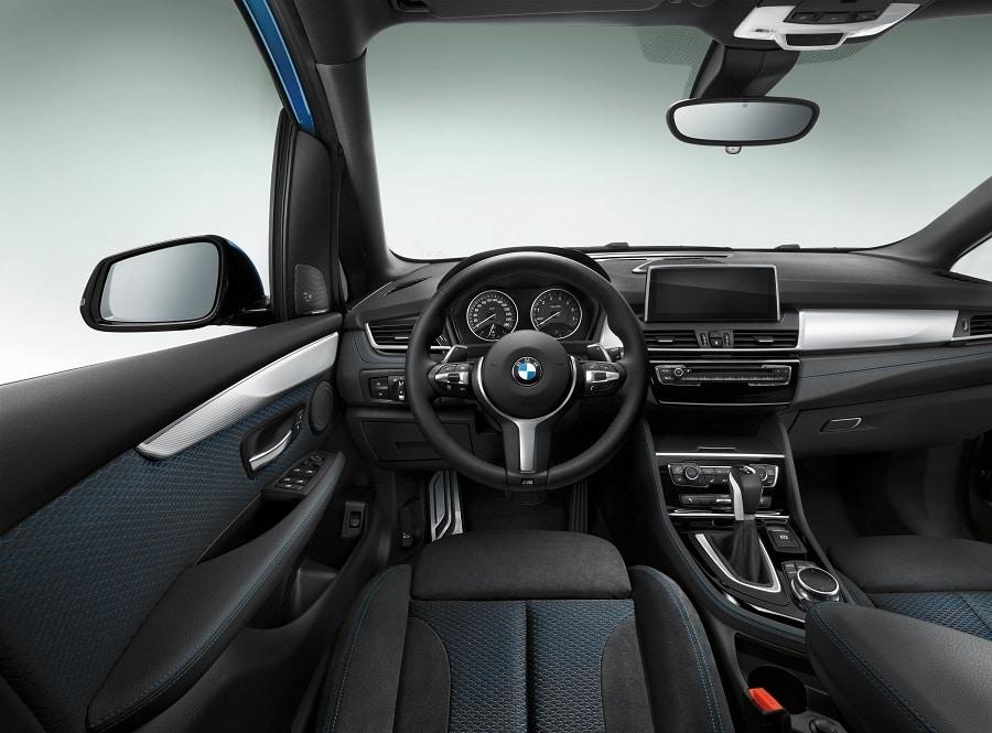 BMW Serie 2 Active Tourer interni