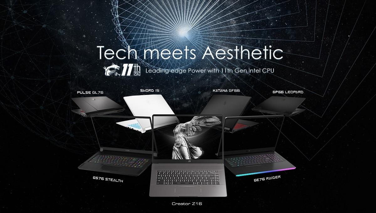 MSI svela i nuovi laptop per gamer e creator thumbnail