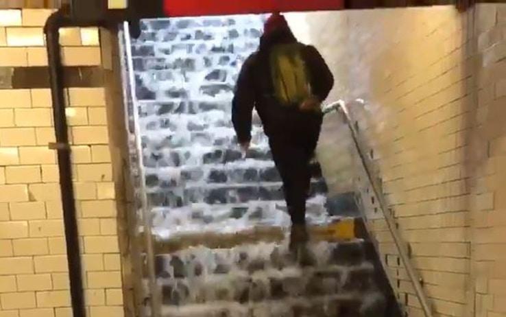 metropolitana new york allagata