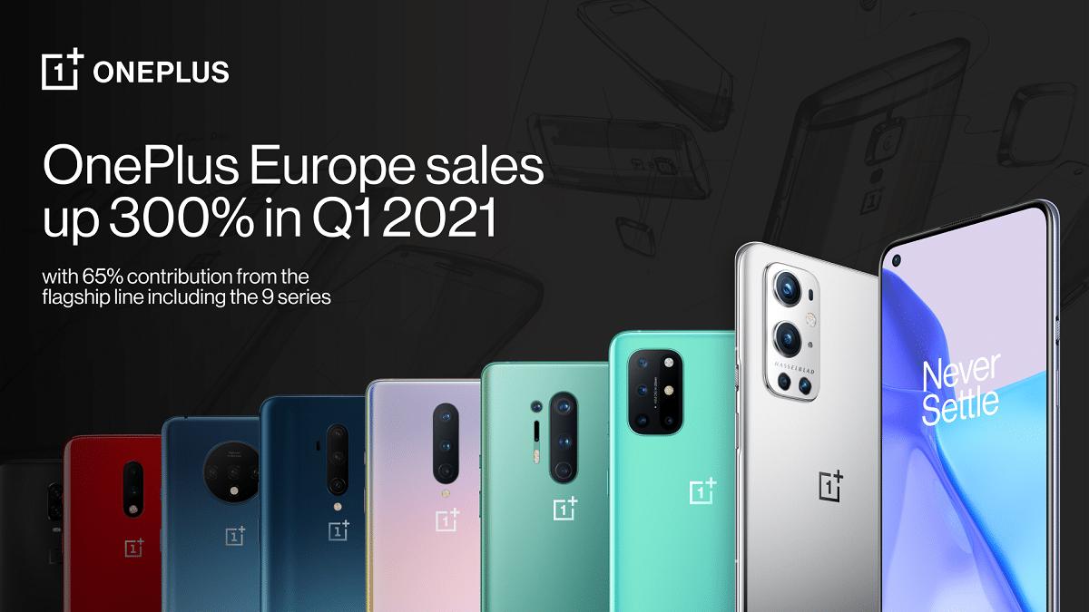 OnePlus: risultati da record in Europa nel primo trimestre thumbnail