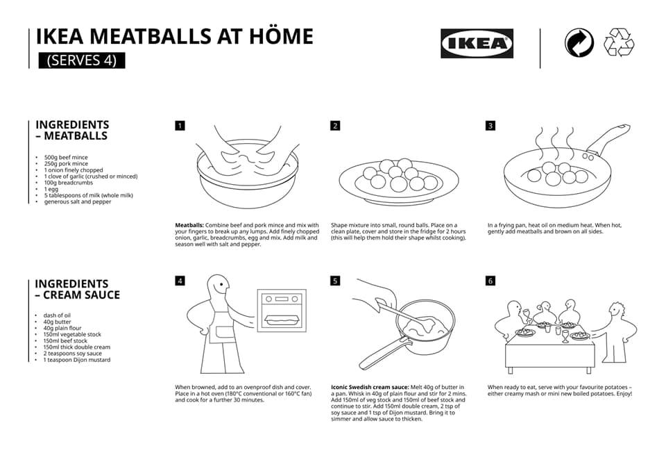 polpette Ikea ricetta