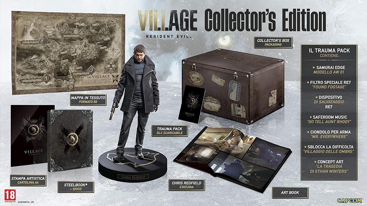 Aperti i pre-order per la Collector's Edition di Resident Evil Village thumbnail