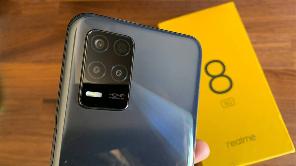 realme 8 5G - fotocamere
