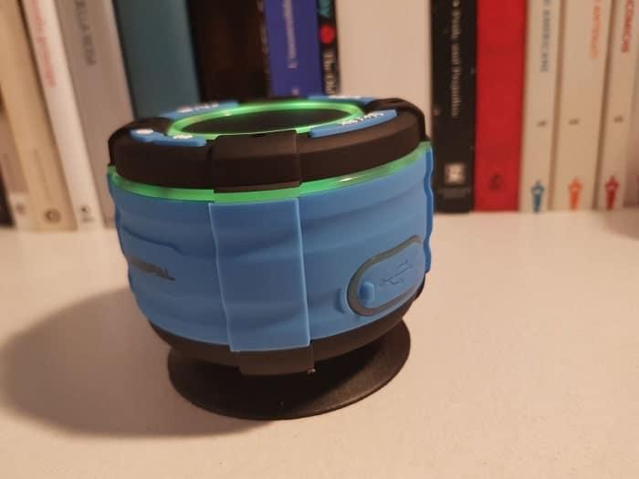 recensione basspal f021 waterproof speaker-min