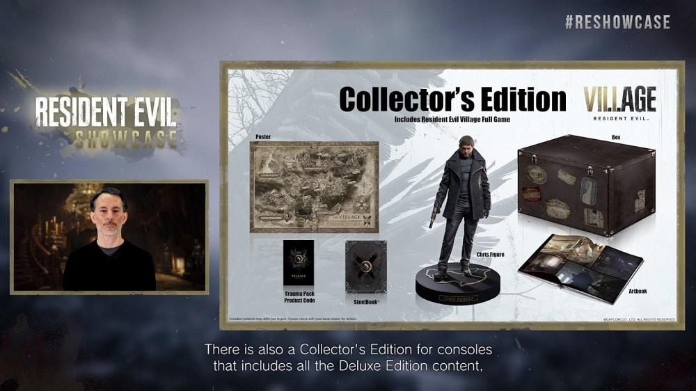 Resident Evil Village, preordini per la Collector's Edition