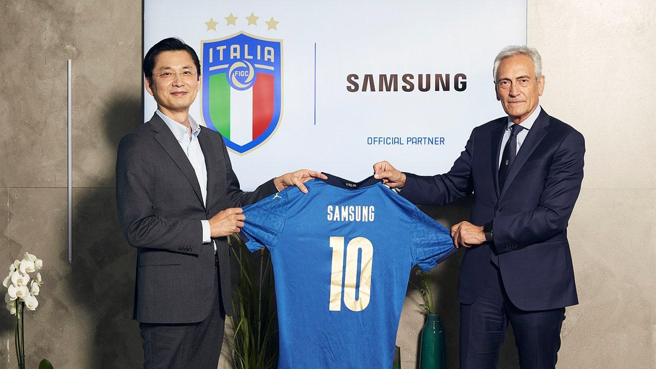 Samsung Italia è Official Sponsor della Federazione Italiana Giuoco Calcio thumbnail