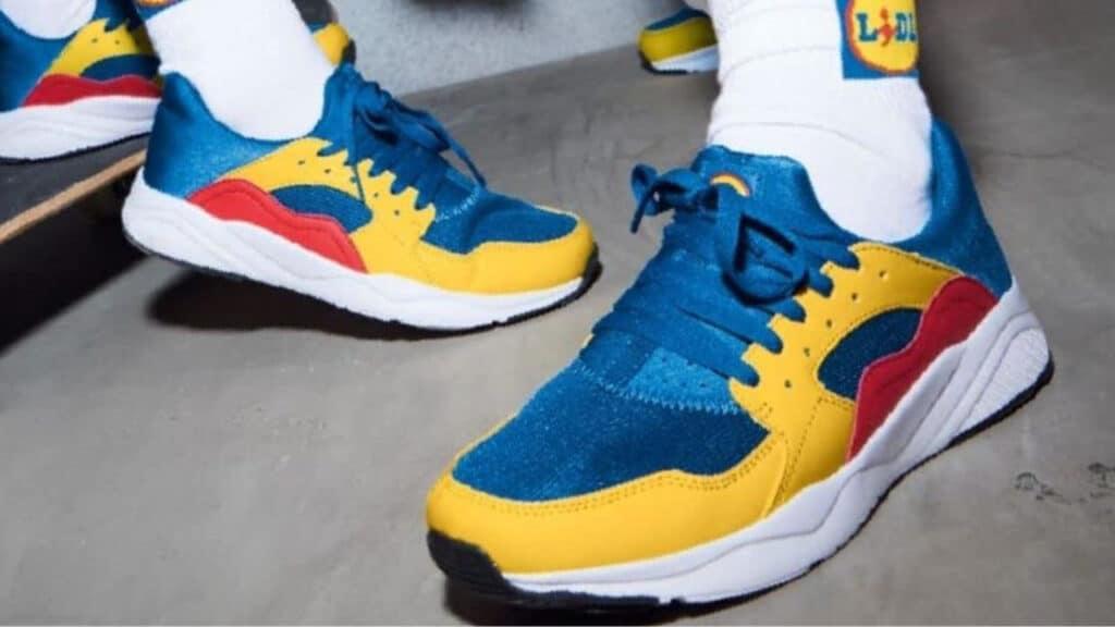 scarpe lidl multicolor