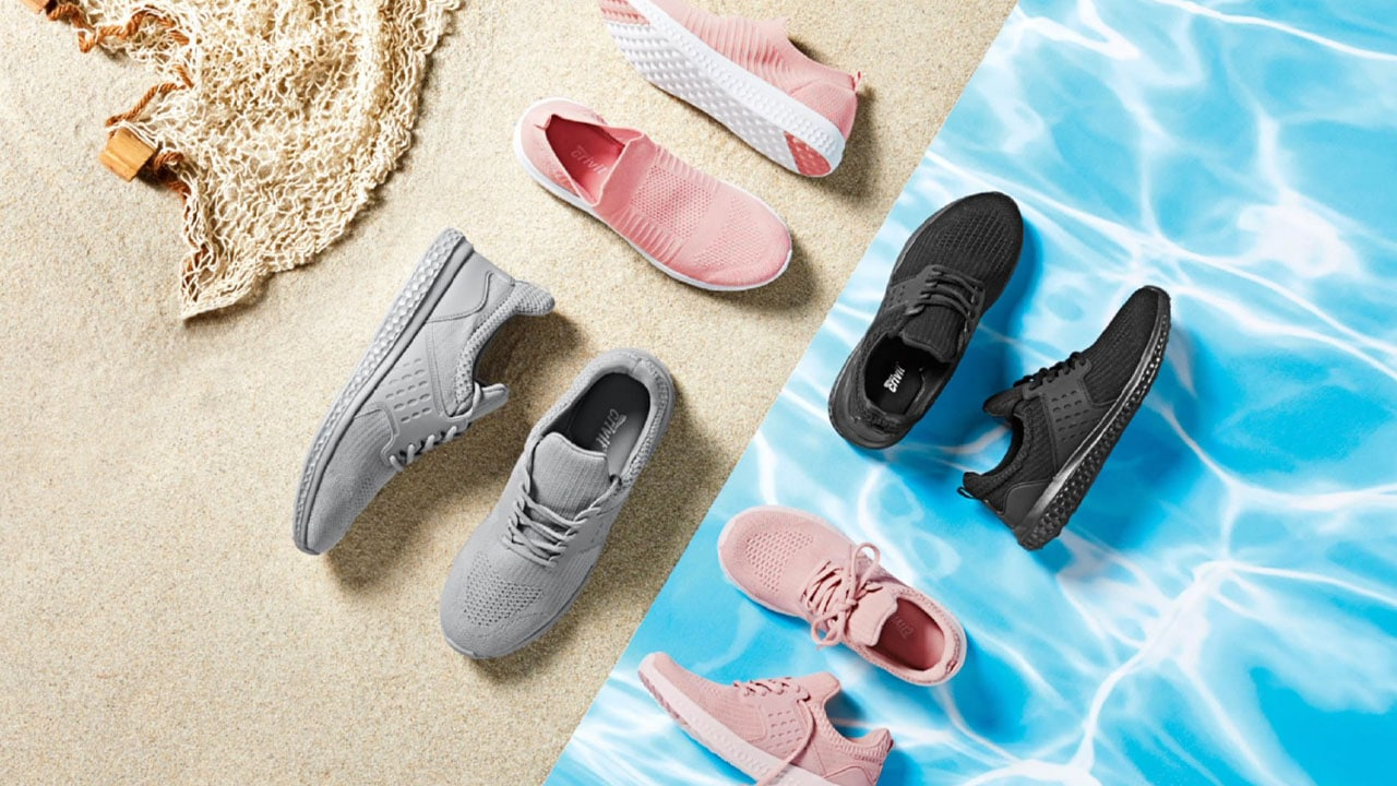 Lidl lancia la nuova collezione di scarpe realizzata con la plastica recuperata dagli oceani thumbnail