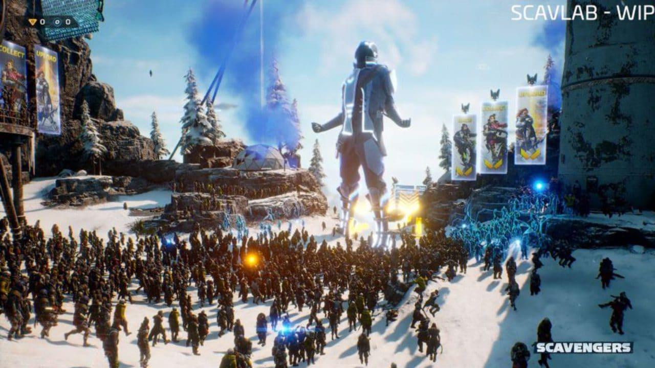 Scavengers: 5000 giocatori tutti insieme, arriva l'evento community thumbnail