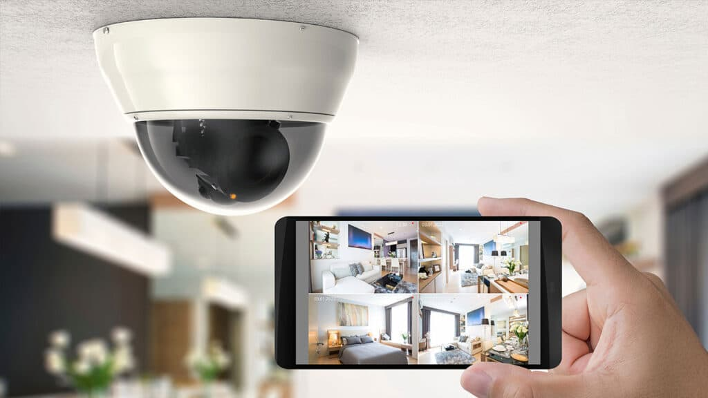 sicurezza dispositivi IoT camera di sicurezza