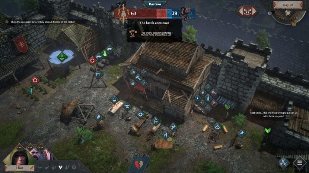 Siege Survival Gloria Victis disponibile