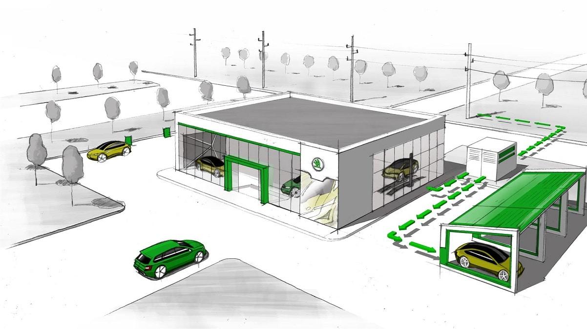 Skoda annuncia un progetto per estendere la vita delle batterie usate thumbnail