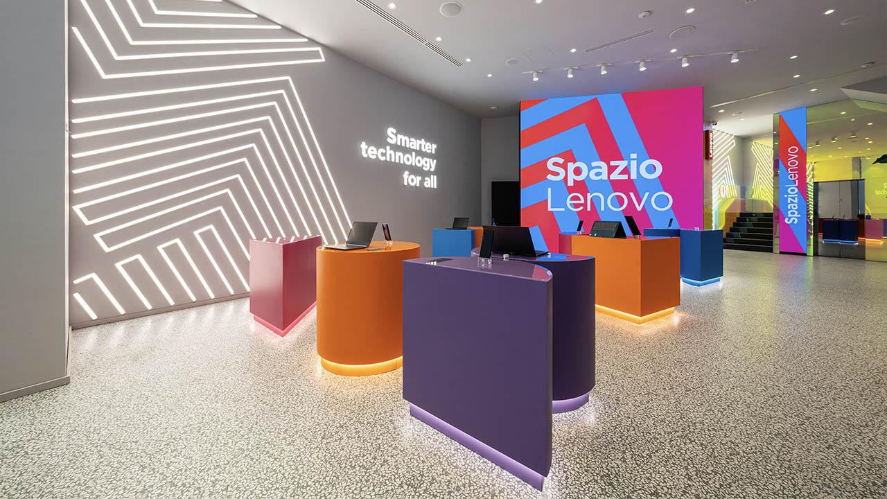 Spazio Lenovo conquista l'A' design Award 2020-21 thumbnail