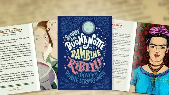 Storie della buonanotte per bambine ribelli: libri che invitano a sognare thumbnail