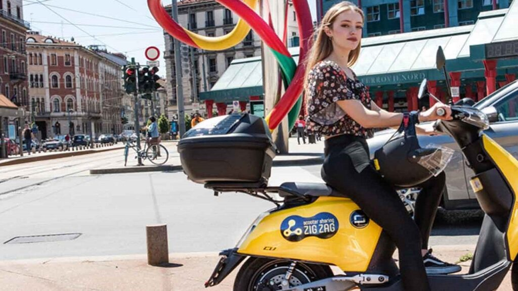 telepass zig zag scooter sharing