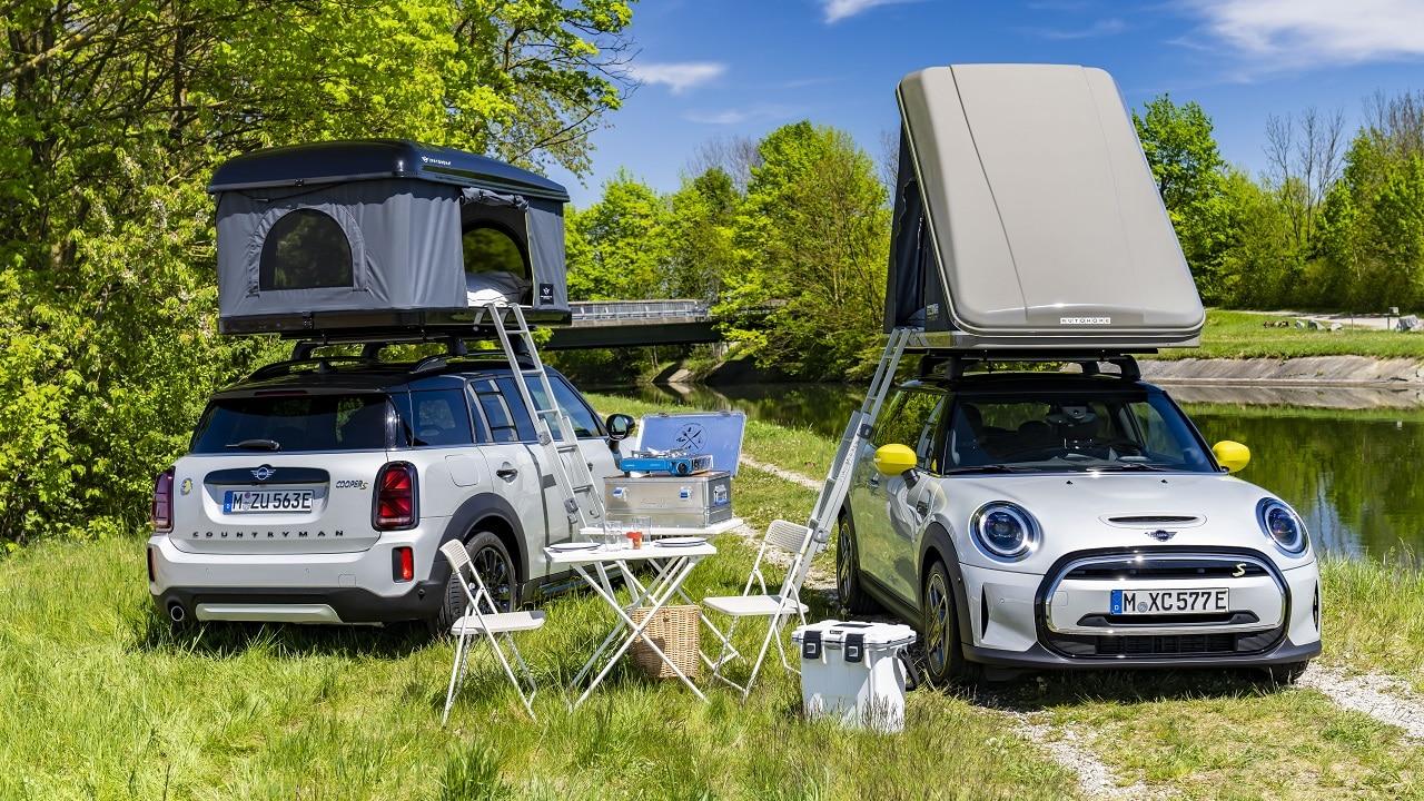 Pronti per una gita nella natura? MINI lancia la tenda da tetto per Countryman e Cooper SE thumbnail