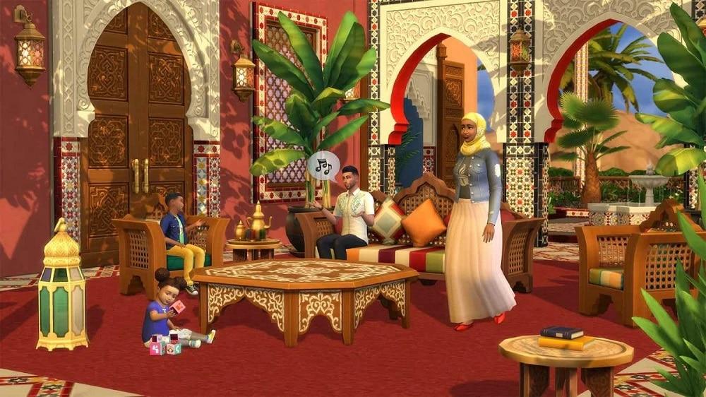 Kit Oasi Giardino The Sims 4 contenuti