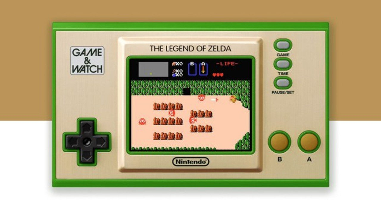 Annunciato all'E3 il Game & Watch The Legend of Zelda thumbnail