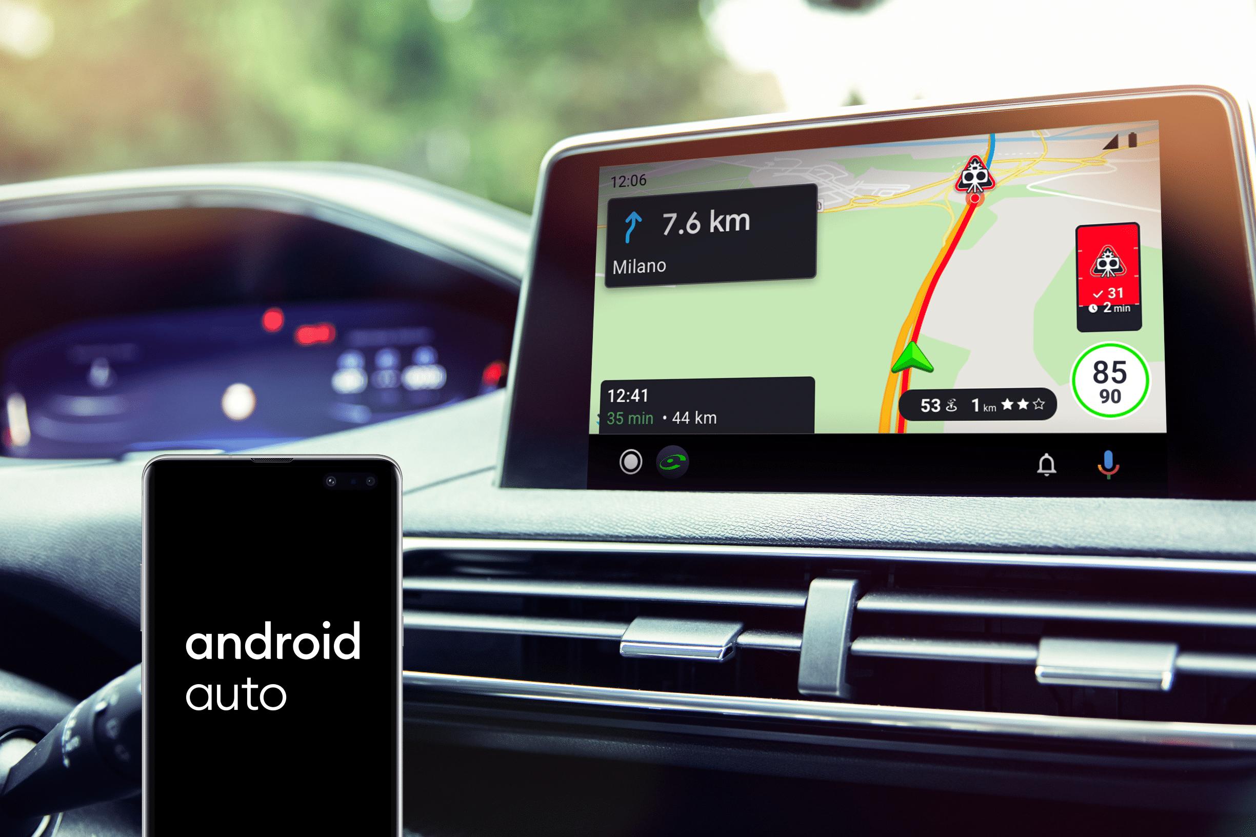 Guida connessa, la tecnologia COYOTE arriva su Android Auto thumbnail