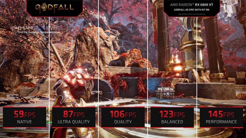 AMD FidelityFX Super Resolution - Godfall