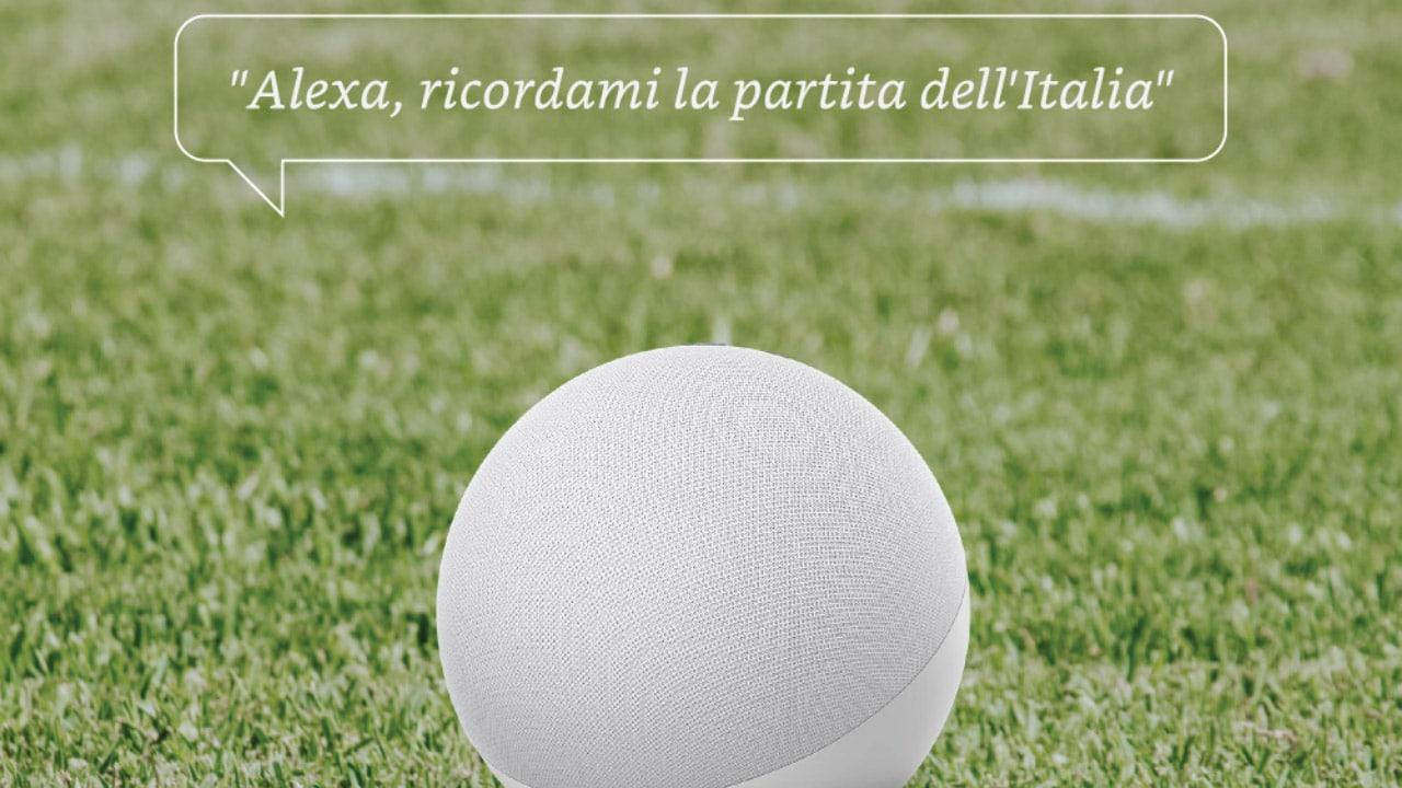 Alexa è pronta per il fischio d'inizio degli Europei di calcio thumbnail