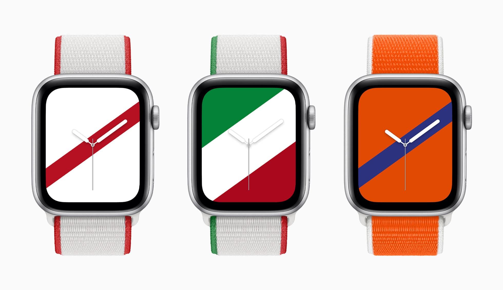 Apple, 22 nuovi cinturini per Apple Watch in occasione delle Olimpiadi thumbnail
