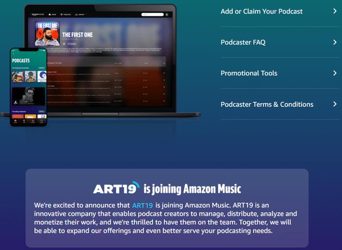 Amazon Music Art19