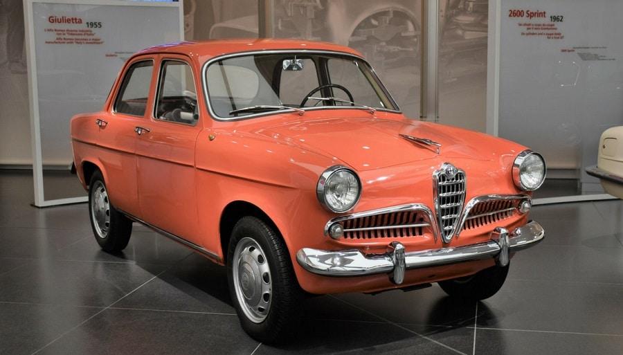 Auto su licenza Alfa Giulietta 1955