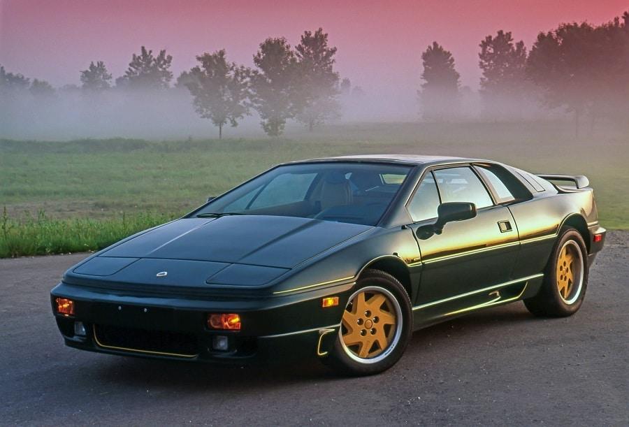 Auto su licenza Lotus Esprit