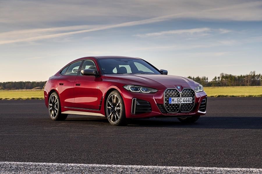 BMW Serie 4 Gran Coupé frontale