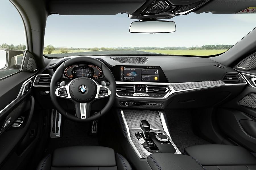 BMW Serie 4 Gran Coupé interni