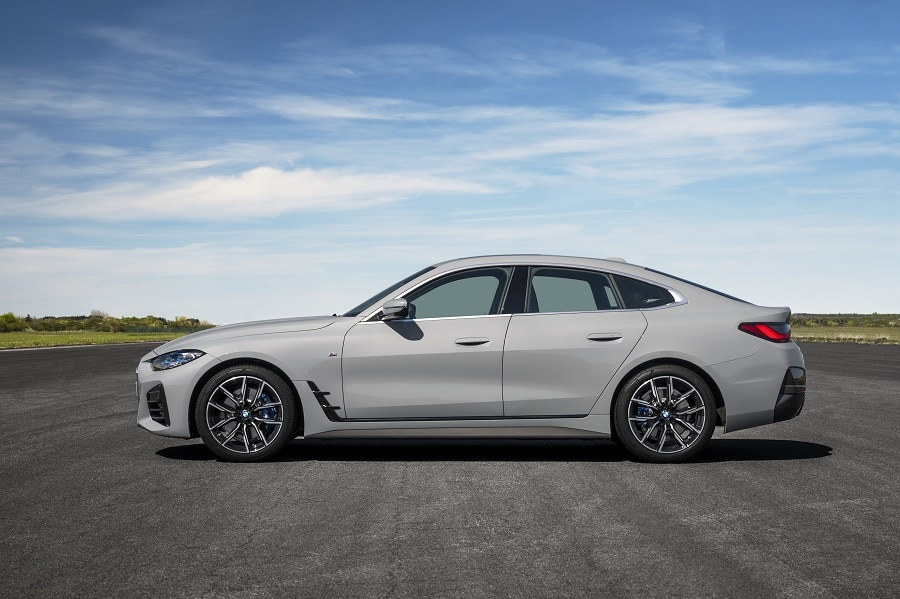 BMW Serie 4 Gran Coupé laterale