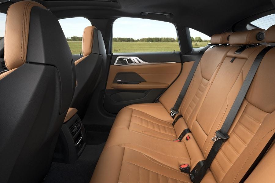 BMW Serie 4 Gran Coupé sedili