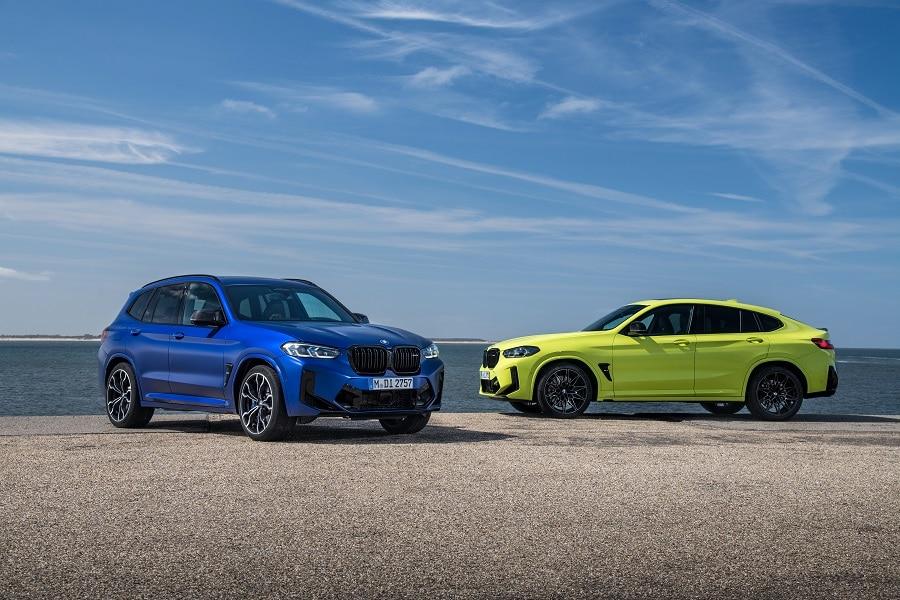 BMW X3 2021 M X4 M
