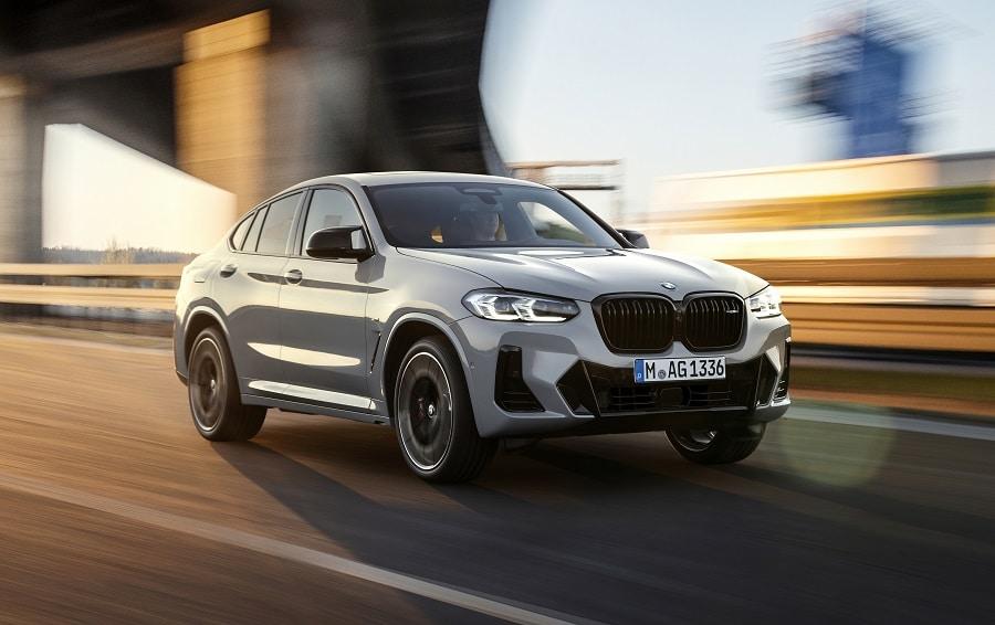 BMW X4 frontale