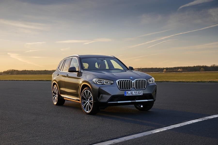 BMW X3 2021 frontale