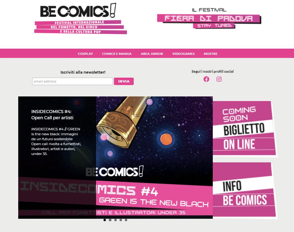 BeComics! L'evento entra nel network di Fandango Club Creators thumbnail
