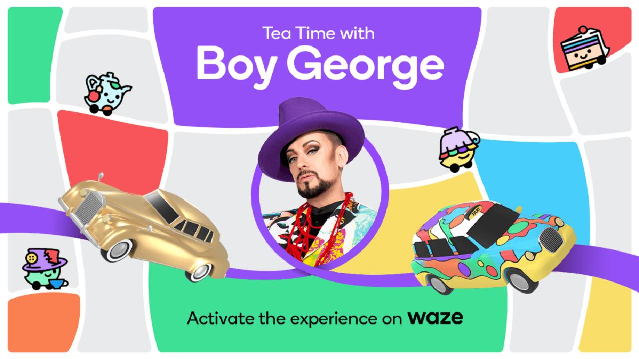 Boy George sarà la voce di Waze che vi guiderà durante il Pride Month thumbnail