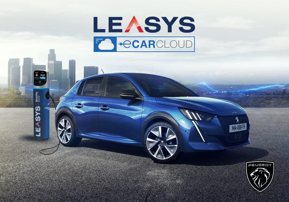 Leasys lancia i nuovi E-CarCloud Peugeot e DS E-Tense thumbnail