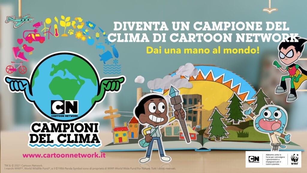 Cartoon Network Campioni del Clima