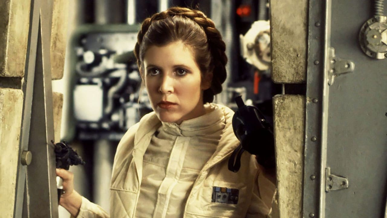 Carrie Fisher nella Walk of Fame di Hollywood thumbnail