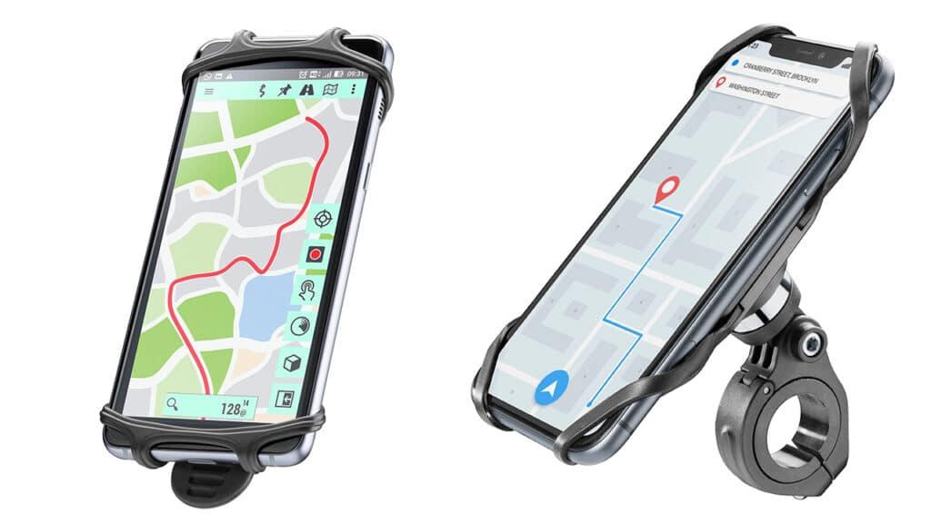 Cellularline supporti smartphone rider e rider pro