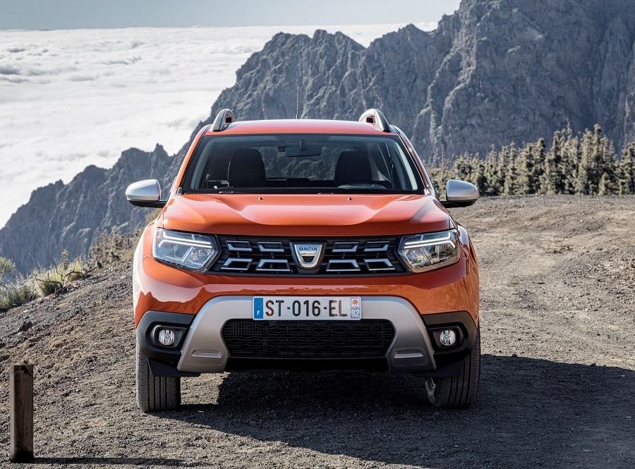 Dacia Duster 2021 dettaglio frontale
