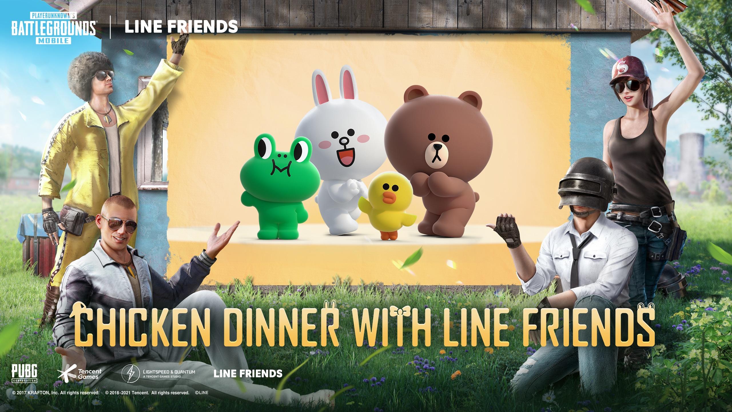 Pubg Mobile e Line Friends: tutti i dettagli sulla collaborazione thumbnail
