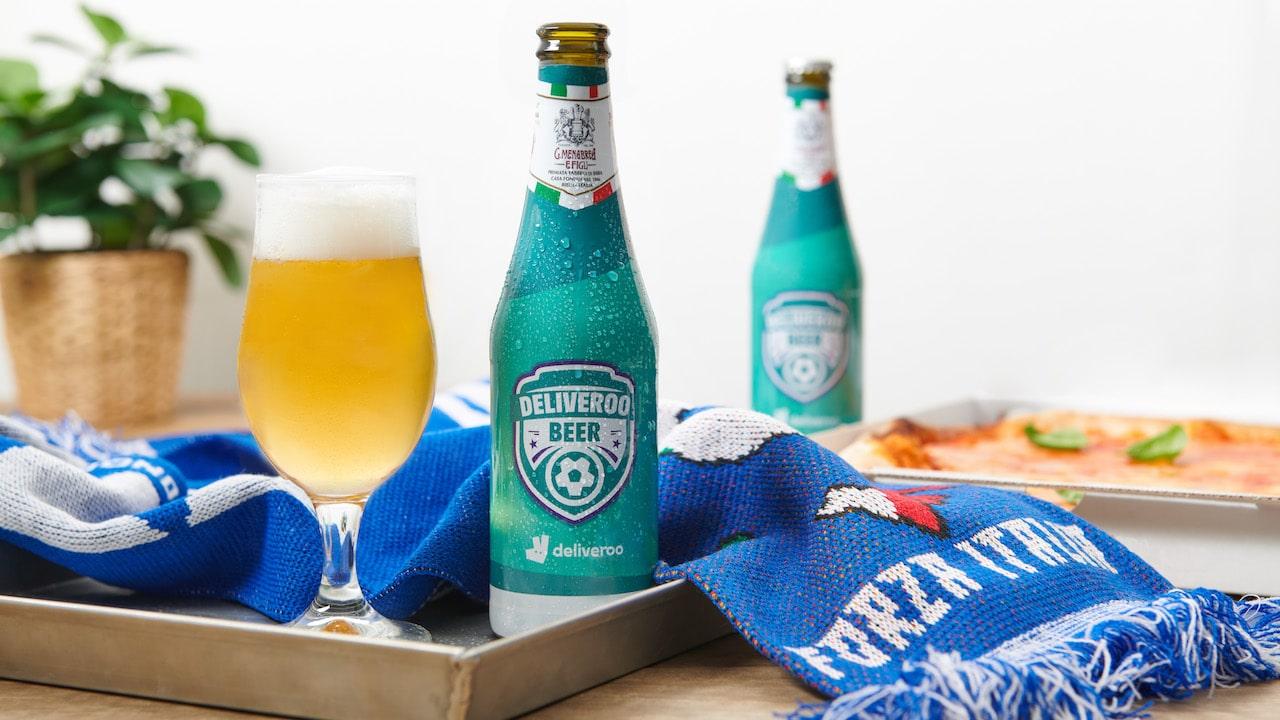 Deliveroo Beer, la birra degli Europei 2021 thumbnail