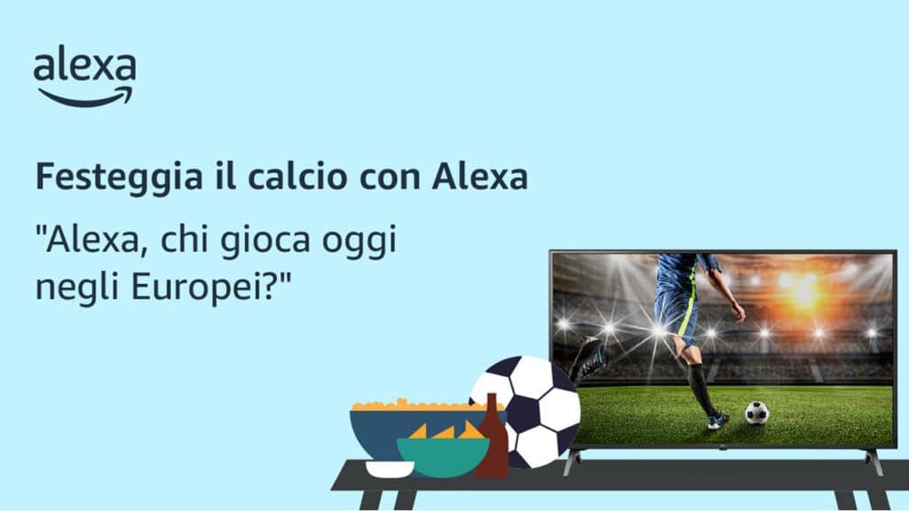 Europei di calcio Alexa
