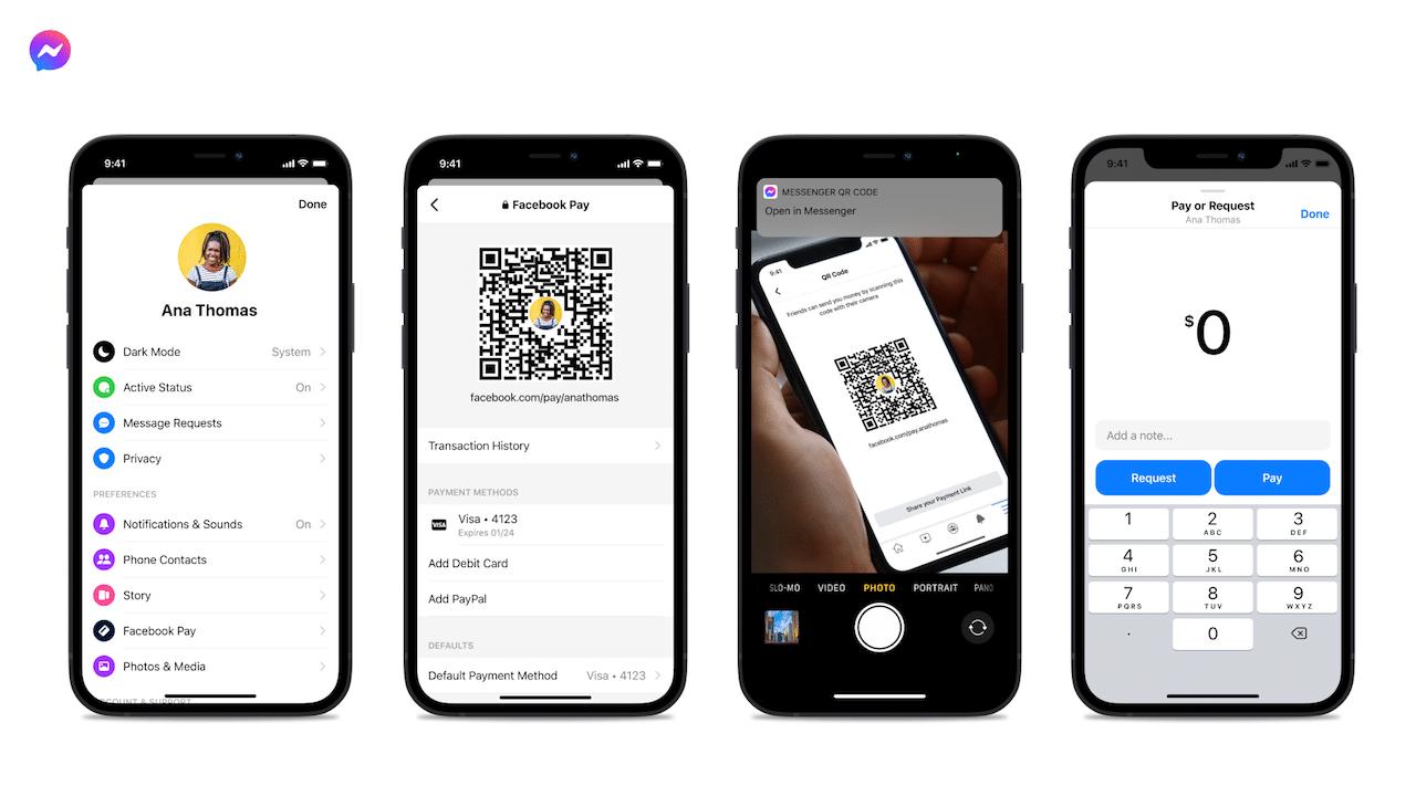Ora si può pagare su Messenger con un QR Code thumbnail