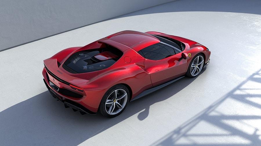 Ferrari 296 GTB estetica