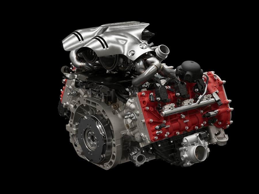 Ferrari 296 GTB motore 120°