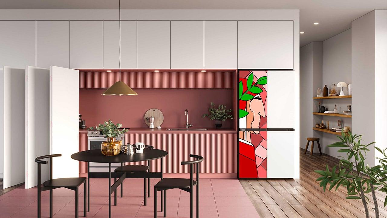 BESPOKE, il frigorifero di Samsung diventa un'opera d'arte thumbnail